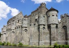 Gravensteen Castle Ghent Belgium Royalty Free Stock Photography