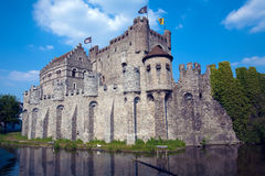 Gravensteen in Ghent Royalty Free Stock Image