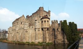 Gravensteen in Ghent Stock Photography