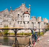 Gravensteen in Ghent Stock Photos