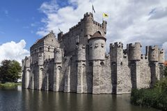 Gravensteen - Ghent - Belgium Royalty Free Stock Images