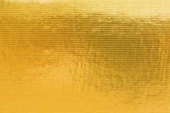 Graver d'or du carton en refief Image libre de droits