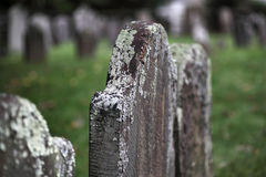 Graves Royalty Free Stock Photo
