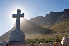 Graves #3. Grave next to the sea - Gordons bay, South Africa Stock Photos