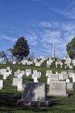 Graves at the Arlington Cemetery Royalty Free Stock Photos