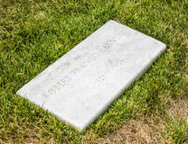 Graves at Arlington national Cemetery in Washington Stock Photo