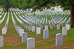 Graves at Arlington national Royalty Free Stock Photo