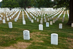 Graves at Arlington national Royalty Free Stock Images