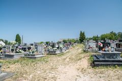 Free Graves At Cemetery In Grodek Stock Photos - 159698853