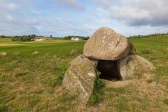 Graves de pedra Humble Fotografia de Stock