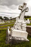 Graves at Great Orme cemetery. Llandudno North Wales Stock Photos