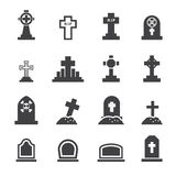 Graves icon Stock Photography