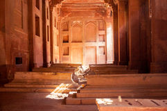 Graves inside the fatehpur sikri monument Royalty Free Stock Photos