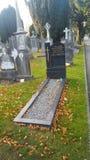 Graves la yarda millones de personas de la muerte famosa de Irlanda fotos de archivo libres de regalías