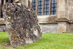 Graves with lichen Stock Photography