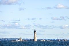 Graves Lighthouse. The Graves Lighthouse in Boston Massachusetts Royalty Free Stock Image