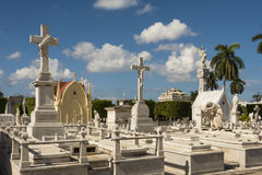 Graves and maosoleums Colon Cemetery Havana Stock Images