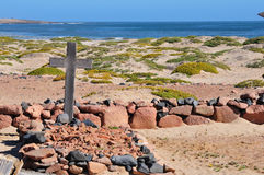 Graves in the Namib Stock Photography