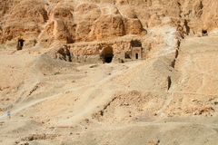 Graves of priests in Egypt Royalty Free Stock Photography