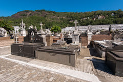 Graves of Rio de Janeiro Cemetery Royalty Free Stock Images