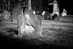 Graves and Tombstone Stock Image