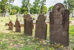 Graves Stock Image