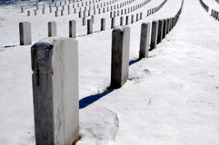 Graves up close at Arlington Stock Images