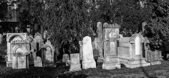 Graves at Zizkov Tower Royalty Free Stock Images