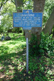 Gravesend Herdenkingsteken in Brooklyn, NY Royalty-vrije Stock Foto