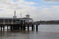 Gravesend pier Royalty Free Stock Image