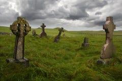 Gravesite céltico antiguo Fotos de archivo