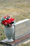 Gravesite de cimetière Photographie stock libre de droits