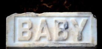 Gravesite de cimetière Photo libre de droits