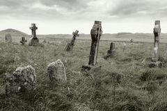 Gravesite delével Foto de Stock Royalty Free