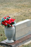 Gravesite del cimitero Fotografia Stock Libera da Diritti