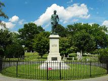 The Gravesite of Stonewall Jackson Royalty Free Stock Image