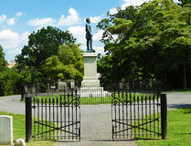 The Gravesite of Stonewall Jackson Royalty Free Stock Photo