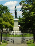 Gravesite van Stonewall Jackson stock afbeelding
