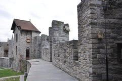 Gravesteen Schloss in Gent, Belgien lizenzfreies stockfoto