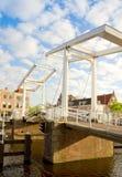 Gravestenebrug bridge in  Haarlem Stock Images