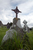 gravestone Ирландия Стоковые Изображения RF
