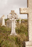 A gravestone. On a Irish graveyard Royalty Free Stock Images