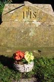 gravestone Foto de archivo libre de regalías