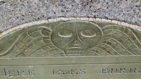 gravestone stock foto