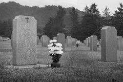 gravestone Fotografia Royalty Free