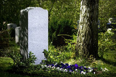 Gravestone Royalty Free Stock Photos