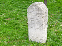 gravestone royalty-vrije stock afbeelding