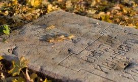 gravestone Foto de archivo