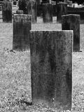 Gravestone: blank rectangle Stock Images