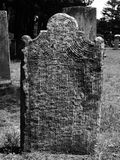 Gravestone: carved lines royalty free stock image